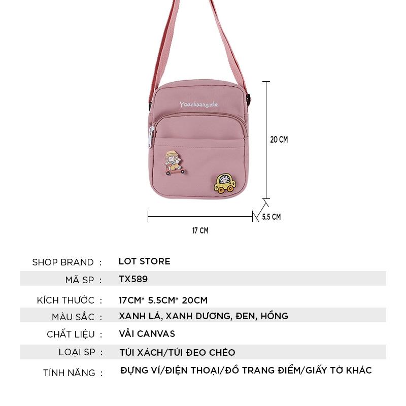 Túi xách nữ đẹp giá rẻ công sở thời trang cao cấp LOT STORE TX589