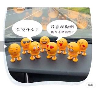 Con lắc lò xo emoji – hàng chờ order giá rẻ