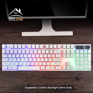 [FREESHIP] Bàn phím máy tính Giả Cơ EVESKY BQ08K, Bàn Phím Chơi Game Chuyên Dụng