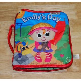 90% Sách vải Lamaze Emily's Day của MỸ