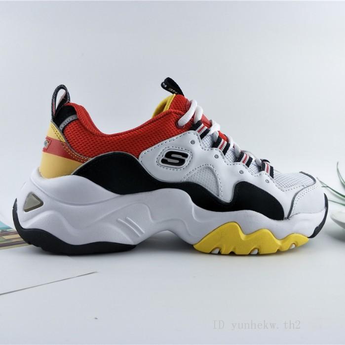 ของแท้ Skechers D'lites 3.0 สเก็ตเชอร์ เพิ่ม รองเท้าผ้าใบ