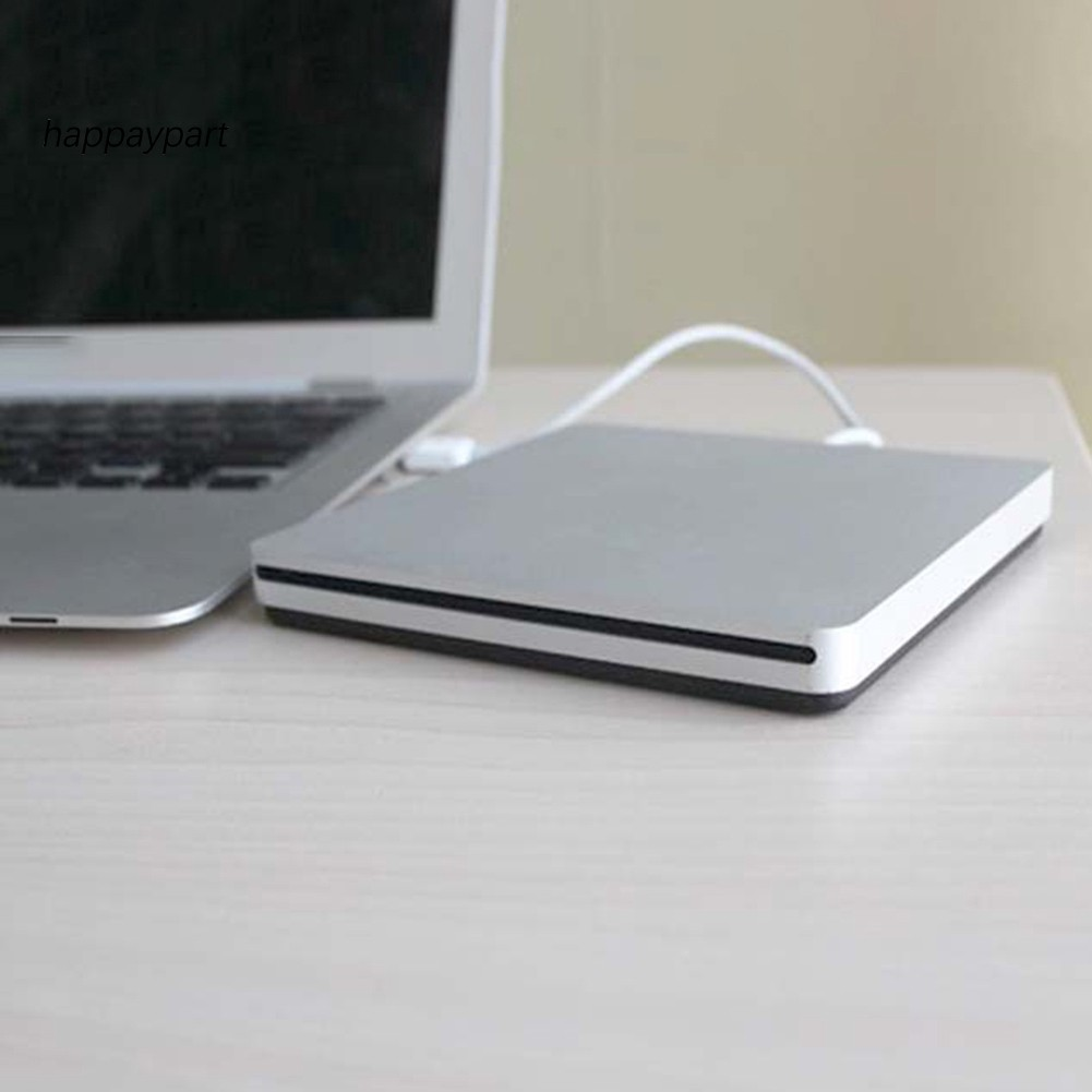 Suction Type External USB 2.0 Optical Drive CD DVD Burner Player for PC Laptop