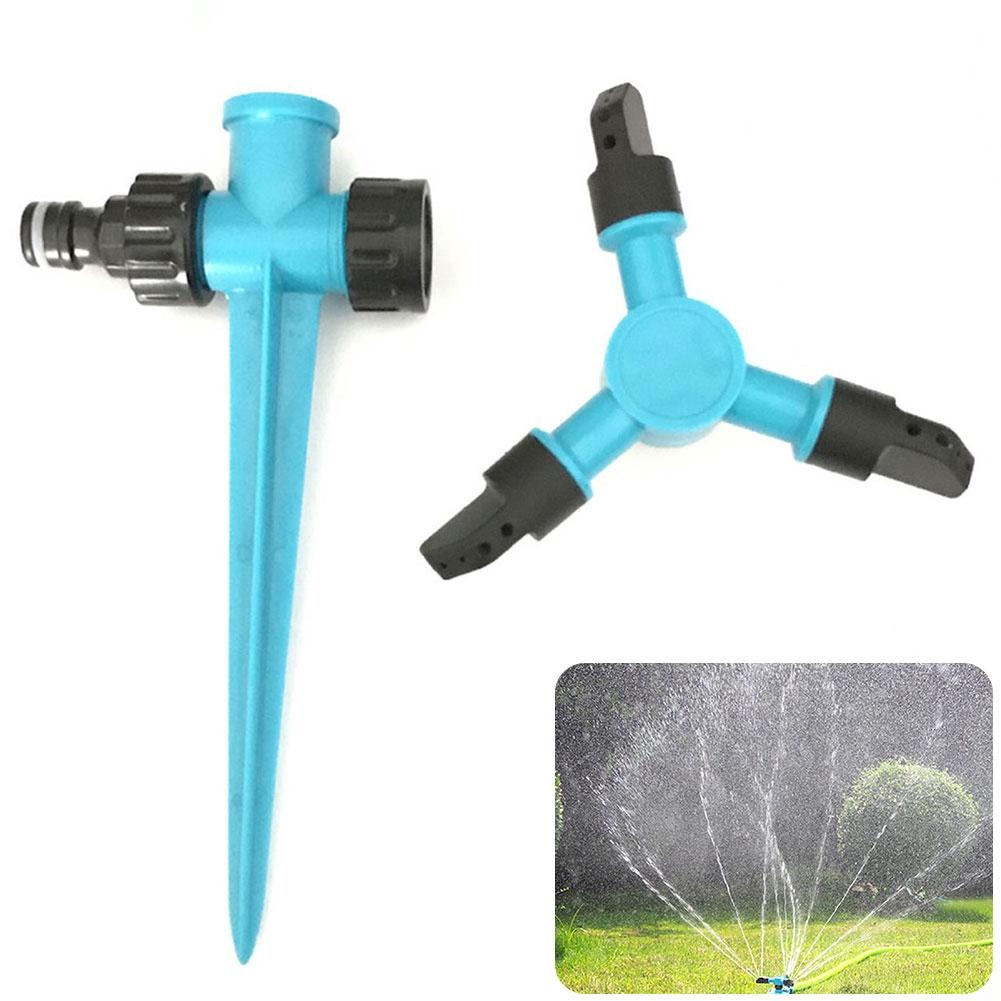 Watering Plastic Adjustable Practical Garden Tools Durable Lawn Irrigation Spray Sprinkler