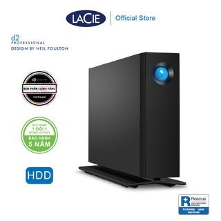 Ổ Cứng Để Bàn Lacie D2 Pro 4TB, 8TB, 10TB USB-C + Rescue Gói cứu dữ liệu thumbnail