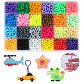 3600Pcs Fuse Beads Kit Magic Water Spray Craft DIY Water Beads for Kids