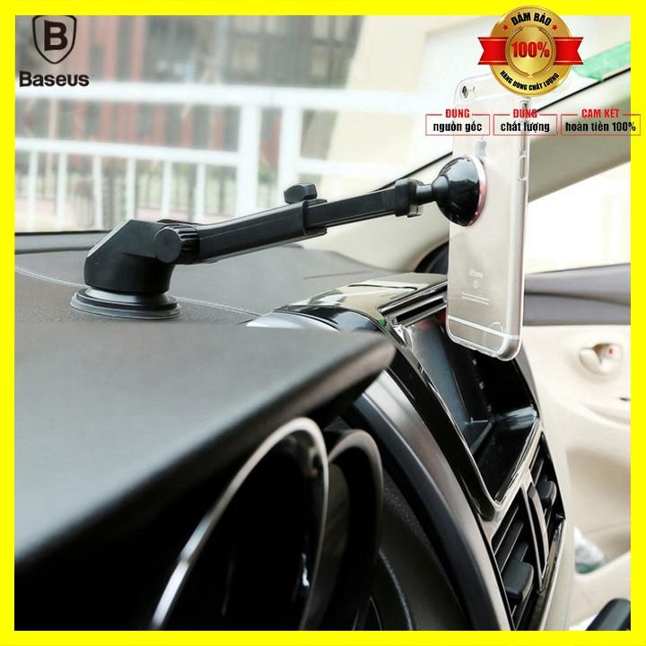 Gía đỡ điện thoại trên ô tô, xe hơi, bán làm việc nhãn hiệu Baseus SULX hút nam chân - Bảo hành 6 tháng