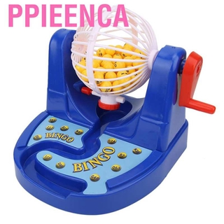 Ppieenca Mini Manual Lottery Numbers Ball Interaction Game Machine Fun Desktop Kid Toy❤AU