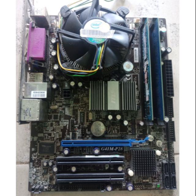 COMBO G41 MSI E8400 RAM 4G Giá chỉ 800.000₫