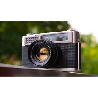 Máy ảnh film rangefinder Konica SII tặng filter xịn