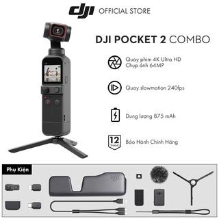 Máy quay phim DJI Osmo Pocket 2 Chống Rung 4K 60fps - Hàng chính hãng - Bảo hành 12 tháng thumbnail