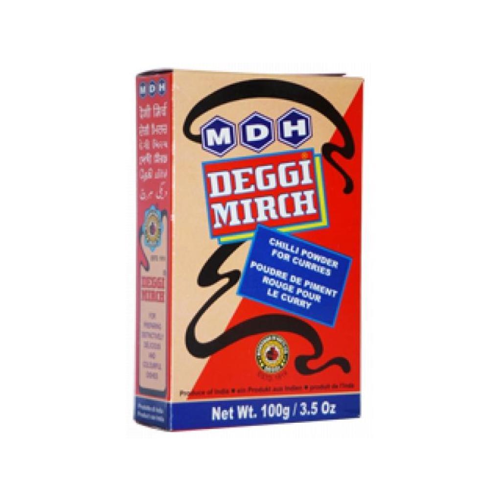 MDH Deggi Mirch (Bright Red Chilli Powder) 100gmDH Deggi Mirch (Bright Red Chilli Powder) 100gm