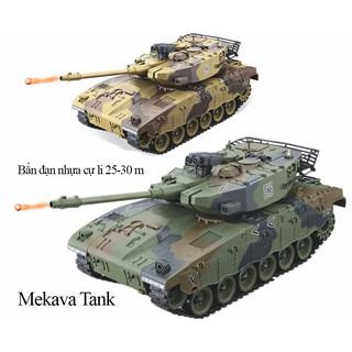 Xe tăng điều khiển bắn đạn Merkava Mk3 Israel