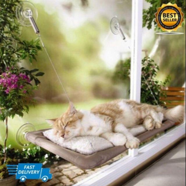 ที่นอนแมวติดกระจก Sunny Seat Window Cat Bed