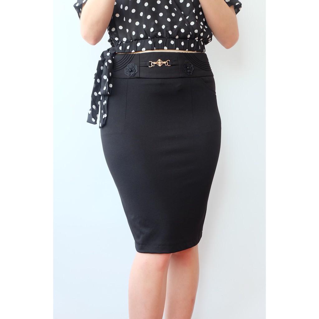 Chân váy công sở vải Umi