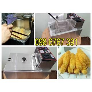 <HÀNG CAO CẤP> Bếp chiên, Bếp chiên nhúng điện, Bếp chiên gà khoai tây, Nồi chiên đơn chạy điện