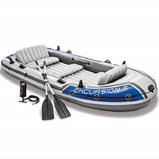 Thuyền bơm hơi du lịch EXCURSION 5 người INTEX 68325