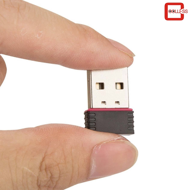 Mini USB WiFi Dongle 802.11 B//G//N Wireless Network Adapter for Laptop PC UK