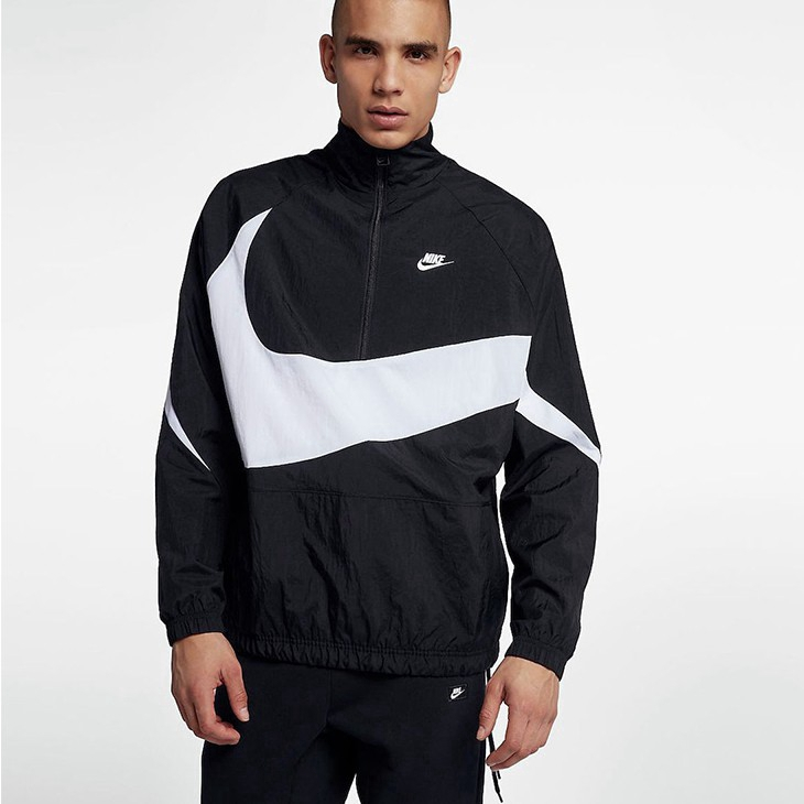 nike big logo windbreaker