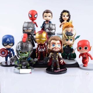 Mô hình hỗn hợp Chibi nhân vật Marvel & DC