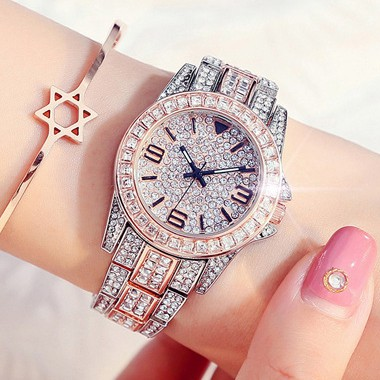 Đồng hồ nữ KEYA BS Đính đá cực đẹp - Style Hàn Quốc + Tặng hộp cao cấp & Pin