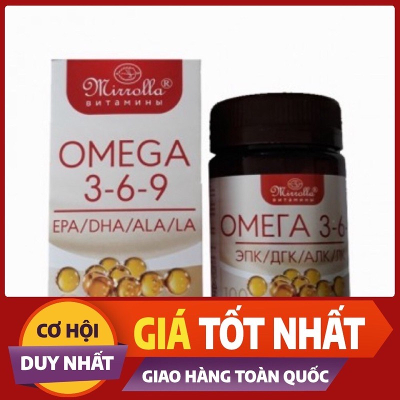 Omega 3-6-9 Nga