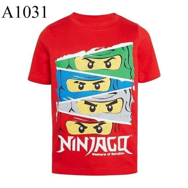 Áo ninja đỏ Jumping