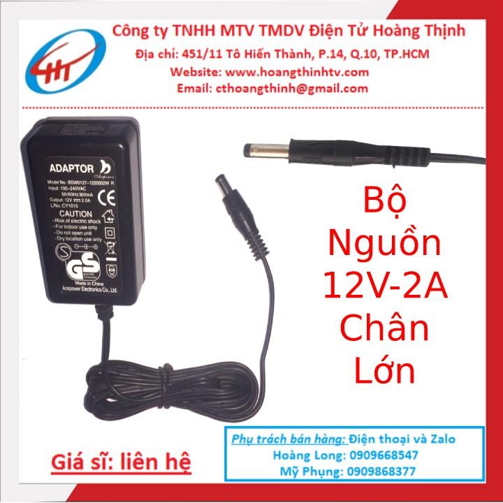 Bộ Nguồn 12V 2A | adapter - 12v2a