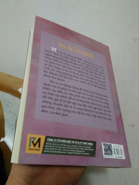 Sách - Vụ Án LEROUGE - Tiểu thuyết trinh thám