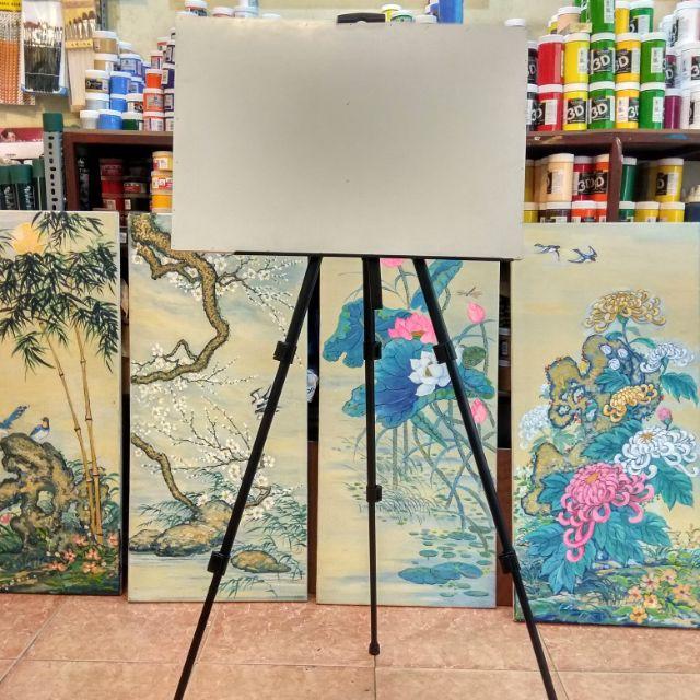Giá Vẽ Sắt - Giá Vẽ Tranh Gấp Gọn
