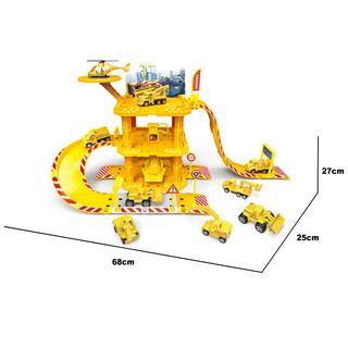 Đồ Chơi Lắp Ráp Xây Dựng Trạm Đỗ Xe Kỹ Thuật Cao Six-Six-Zero-A32