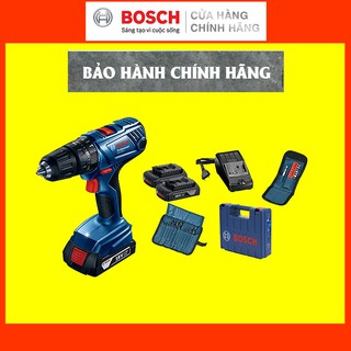 [CHÍNH HÃNG] Máy Khoan Vặn Vít Động Lực Dùng Pin Bosch GSB 180-LI + Phụ Kiện, Giá Đại Lý Cấp 1, Bảo Hành Dài Hạn