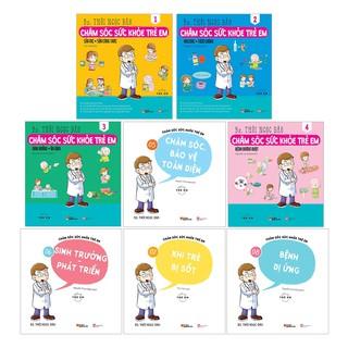 Sách - Combo Chăm Sóc Sức Khỏe Trẻ Em (8 Cuốn) thumbnail