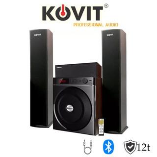 LOA VI TÍNH 3.1 KOVIT KS 839 – Nghe nhạc cực phê, công suất lớn, bass mạnh, treble hay, có kết nối bluetooth….