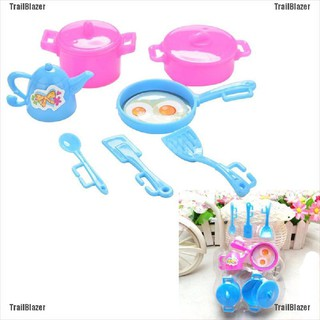 [TrailBlazer]Kitchen Tableware Doll Accessories For Barbie Dolls Girls Baby Play House Toys