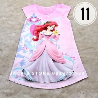 Váy đầm công chúa màu hồng