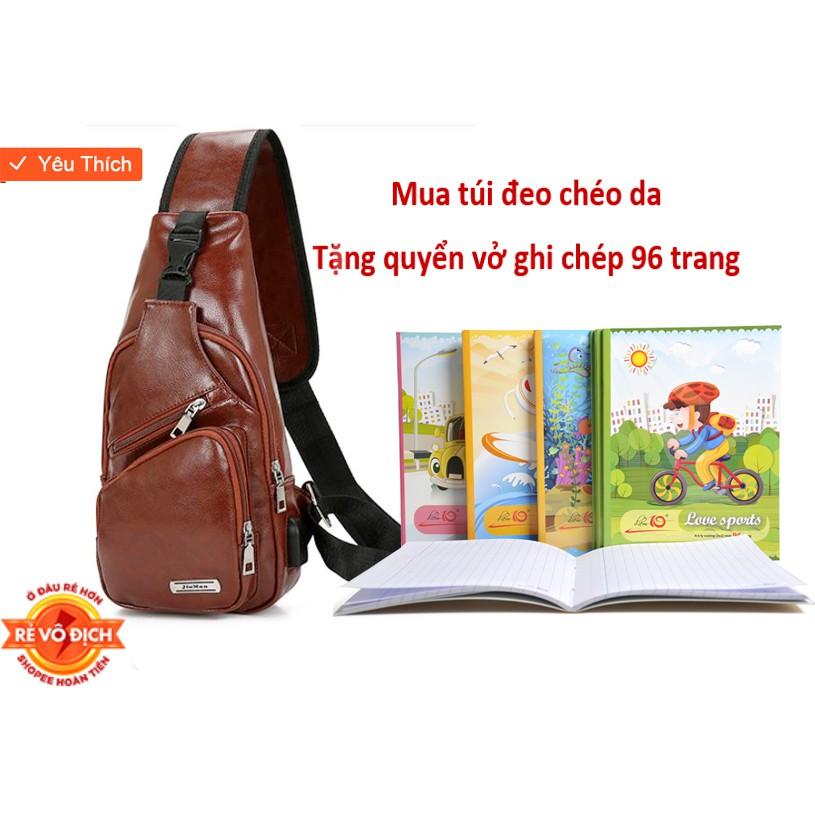 Túi Đeo Chéo tặng kèm quyển sổ 96 trang