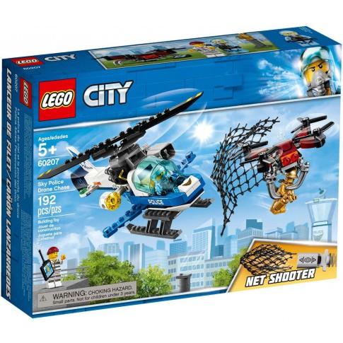 LEGO City 60207 – Trực Thăng Cảnh Sát