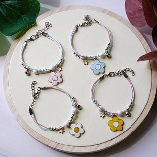 INS New Flower Bracelet Sweet and Sweet Bracelets & Charms