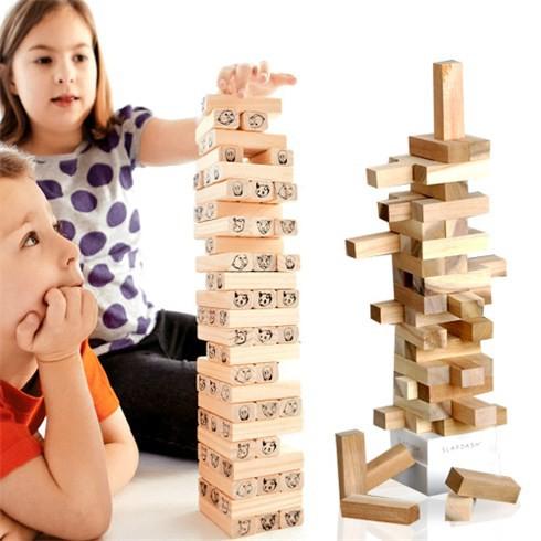 đồ chơi rút gỗ kích cỡ to WOOD TOYS