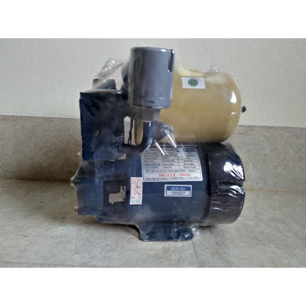Máy Bơm Tăng Áp 150w Dùng tăng áp lực nước gia đình 100% dây đòng ,trục Inox
