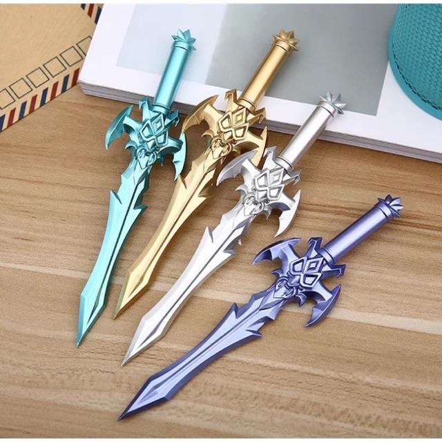 Bút bi nước hình thanh kiếm 3