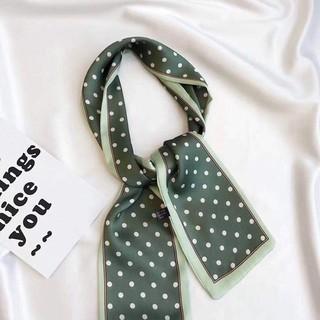 Phụ kiện trang trí túi (móc tròn bông hoặc khăn lụa)