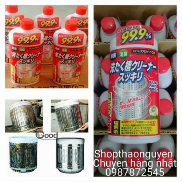 Nước tẩy vệ sinh lồng giặt 99,9% Nhật - 2843822 , 70206430 , 322_70206430 , 75000 , Nuoc-tay-ve-sinh-long-giat-999Phan-Tram-Nhat-322_70206430 , shopee.vn , Nước tẩy vệ sinh lồng giặt 99,9% Nhật