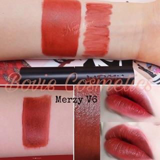 [ Có sẵn ] Son kem Merzy Another Me The First Velvet Tint màu V6 Merzy The Heritage thumbnail