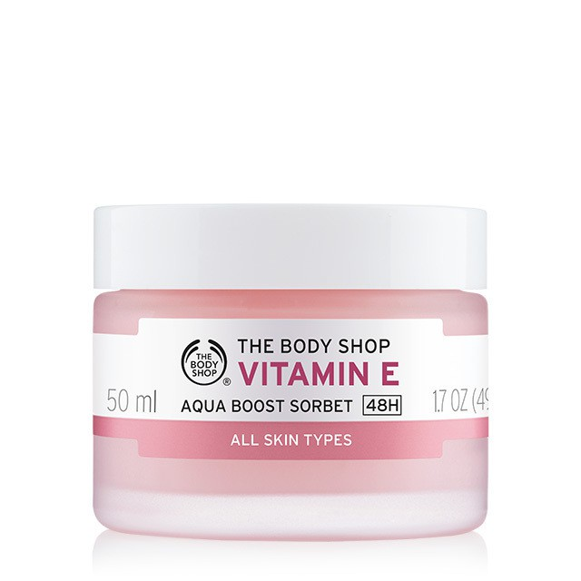 [Chiết/Fullsize] Kem dưỡng ẩm The Body Shop Vitamin E Aqua Boost Sorbet - 2680091 , 729172847 , 322_729172847 , 350000 , Chiet-Fullsize-Kem-duong-am-The-Body-Shop-Vitamin-E-Aqua-Boost-Sorbet-322_729172847 , shopee.vn , [Chiết/Fullsize] Kem dưỡng ẩm The Body Shop Vitamin E Aqua Boost Sorbet