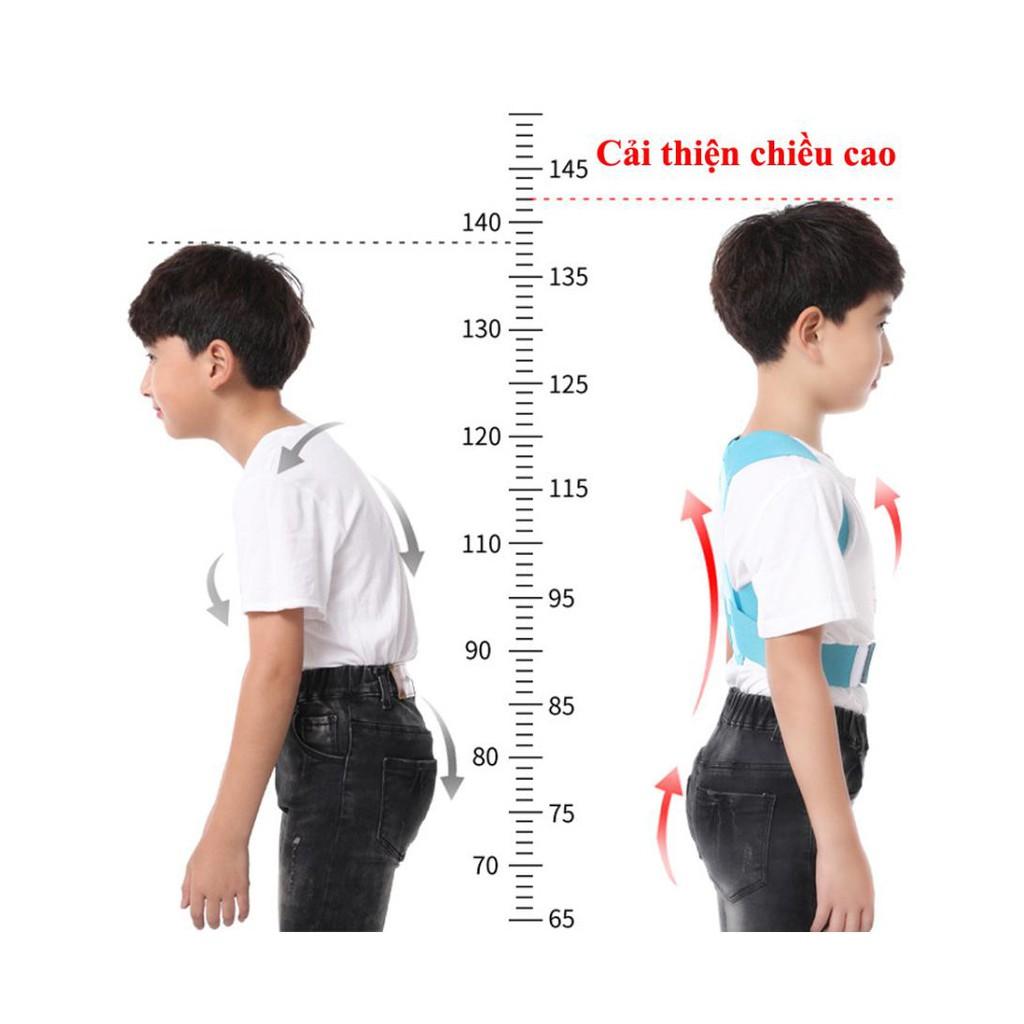 Đai Chống Gù Lưng cải thiện cột sống SAMEPEAK Cho trẻ em học sinh đủ size