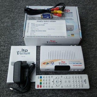 Đầu thu DVB T2 LTP tặng kèm angten 15m