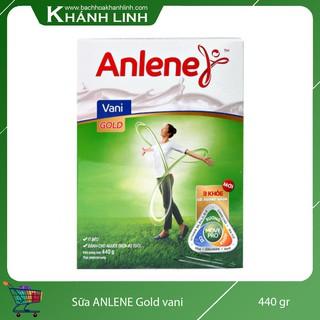 Sữa Bột Anlene Gold Vani Hộp Giấy 440g cho Người trên 51 Tuổi (Mẫu mới ghi trên 40 tuổi)