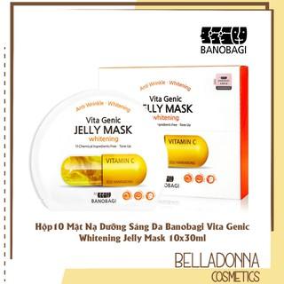 Hộp10 Mặt nạ Dưỡng Sáng Da Banobagi Vita Genic Whitening Jelly Mask 10x30ml thumbnail