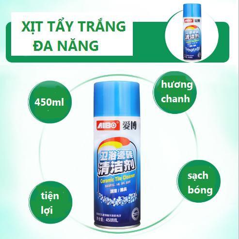 Chai Xịt AIBO 450ml Vệ Sinh Sàn Nhà, Gạch Men Siêu Sáng   Shopee Việt Nam